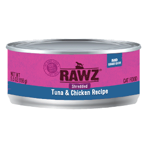 Rawz Shredded Tuna and Chicken Cat Can