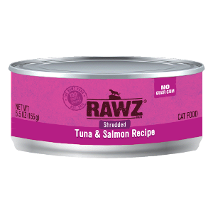 Rawz Shredded Tuna and Salmon Cat Can