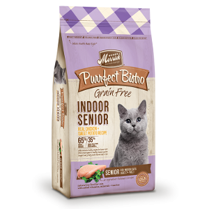 Purrfect Bistro Indoor Senior Recipe 4&7lb Bags