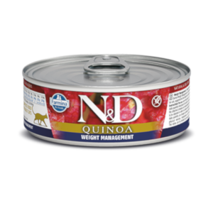 Farmina N&D Quinoa Cat Weight Management Lamb Recipe 2.8 oz.