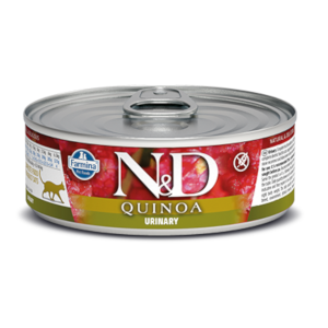 Farmina N&D Quinoa Cat Urinary Duck Recipe 2.8 oz. Can