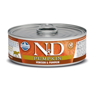 Farmina N&D Pumpkin Cat Venison & Pumpkin Recipe 2.8 Oz. Can
