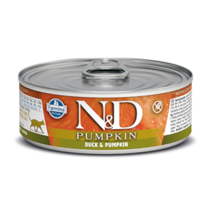 Farmina N&D Pumpkin Cat Duck & Pumpkin Recipe 2.8 Oz. Can