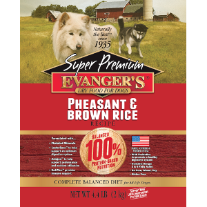 Evanger's Pheasant And Brown Rice Dry Dog Food