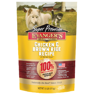 Evanger's Chicken With Brown Rice Dry Dog Food