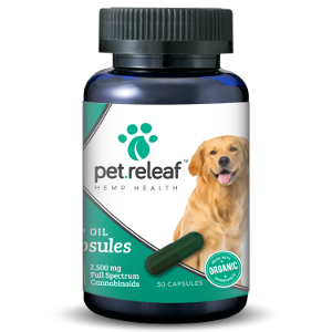 Pet Releaf Hemp Oil 2500 mg Capsule