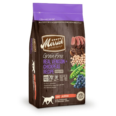 Grain Free Real Venison & Chickpeas Dry Adult Dog Food