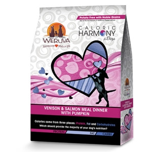Caloric Harmony Venison & Salmon with Noble Grains Dog Food, 12lbs.