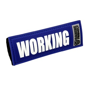 'Working' Canine Friendly Bark Notes, Blue