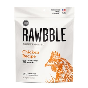 Rawbble™ 2 oz. Freeze Dried Chicken Treats for Dogs