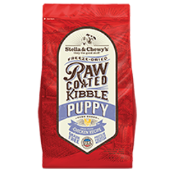 Stella & Chewy's Cage-Free Chicken Recipe Raw Coated Baked Kibble for Puppies