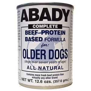 ABADY COMPLETE Beef-Protein Based Formula for Older Dogs