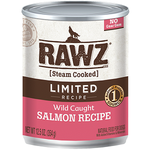 RAWZ Wild Caught Salmon Limited Reciped Canned Dog Food