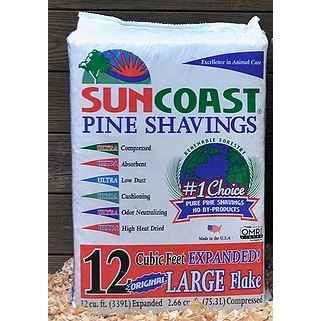 Suncoast® Coarse Pine Shavings, 12 cu. ft.