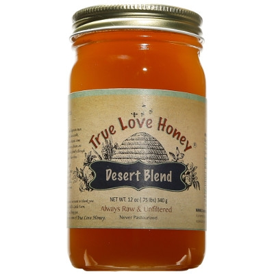 Raw Desert Blend Honey