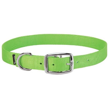 Large Lime Green Goat Collar