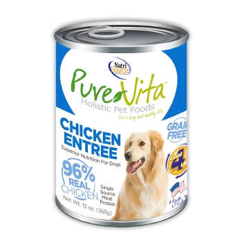 PureVita™ Grain Free Chicken Canned Dog Food