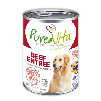 PureVita™ Grain Free Beef Canned Dog Food