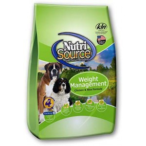 NutriSource® Weight Management Chicken & Rice Dry Dog Food