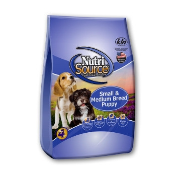 NutriSource® Small and Medium Breed Puppy Dry Food