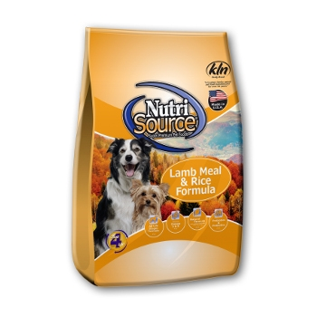 NutriSource® Lamb Meal & Rice Dry Dog Food
