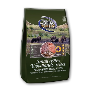 NutriSource® Small Bites Grain Free Woodlands Select Dry Dog Food