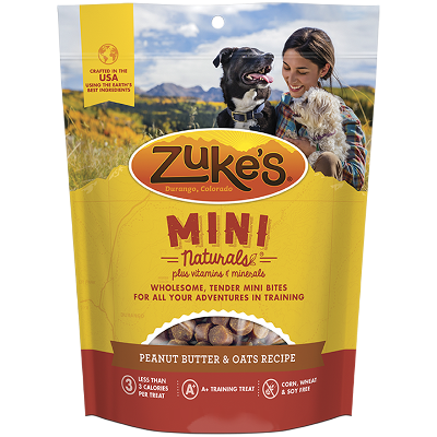 Mini Naturals® Peanut Butter & Oats Dog Treats