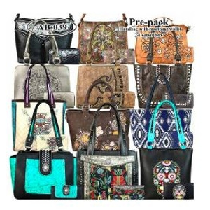 Purse & Wallet Combo Sets