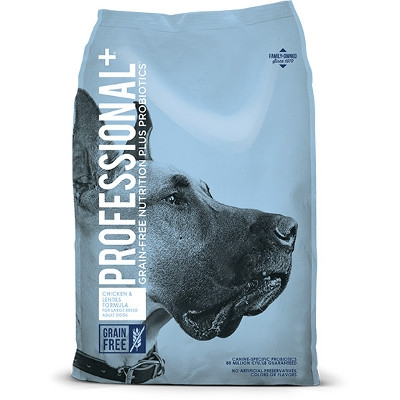 Professional Plus Chicken & Lentils Formula Large Breed Adult Dry Dog Food