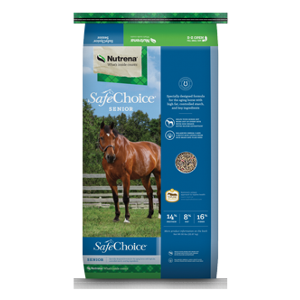 Safechoice Senior Horse Feed Wet and Dry
