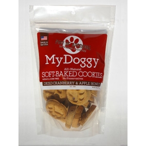 My Doggy Soft-Baked Cookies Dried Cranberry & Apple Honey