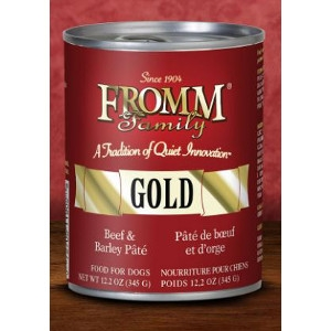 Fromm Family Gold Beef & Barley Pate 12.2. Oz.