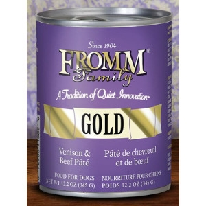 Fromm Family Gold Venison & Beef Pate 12.2 Oz.