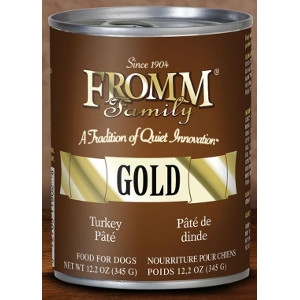 Fromm Family Gold Turkey Pate 12.2 Oz.