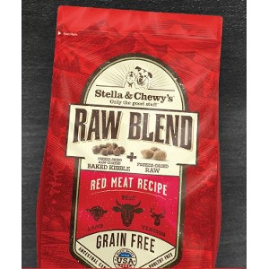 Raw Blend Red Meat Recipe for Dogs