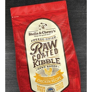 Raw Coated Kibble Cage-Free Chicken Recipe for Dogs