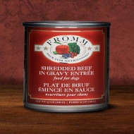Fromm Four-Star Shredded Beef in Gravy 12oz Can