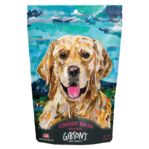 Gibson's Cowboy Bacon with Beef-Jerky Dog Treats