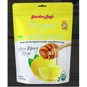 Grandma Lucy's Organic Lemon Honey Treats