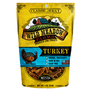 Wild Meadow Farms Classic Turkey Jerky Mini's