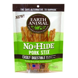 Earth Animal No Hide Pork Stix Dog Treats