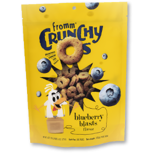 Fromm Crunchy O's Blueberry Blast Treats