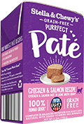 Stella & Chewy's Purrfect Pate GF Chicken & Salmon Medley Paté Wet Food
