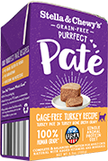 Stella & Chewy's Purrferct Pate GF Cage-Free Turkey Paté Wet Food