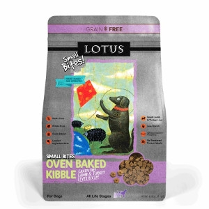 Lotus Small Bites Lamb & Turkey Recipe Dog Food