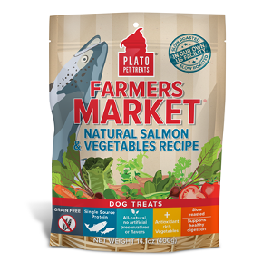 Plato Farmers Market Salmon & Vegetables Recipe