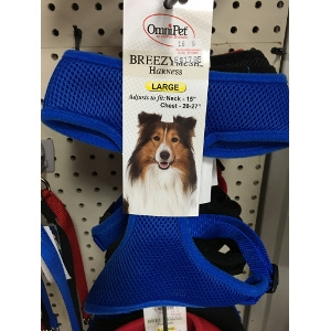 BreezyMesh Harness-Blue