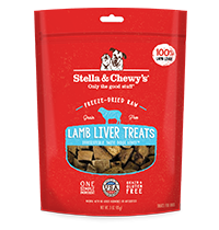 Freeze-Dried Raw Lamb Liver Treats