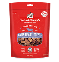 Freeze-Dried Raw Lamb Heart Treats