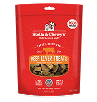 Freeze-Dried Raw Beef Liver Treats